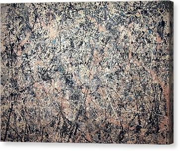 Pollock's Number 1 -- 1950 -- Lavender Mist Canvas Print by Cora Wandel