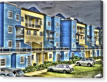 Polomar Apartments Canvas Print by Gail Maloney