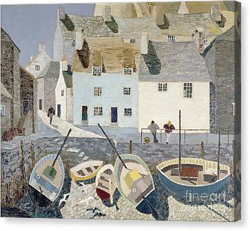 Polperro Canvas Print by Eric Hains
