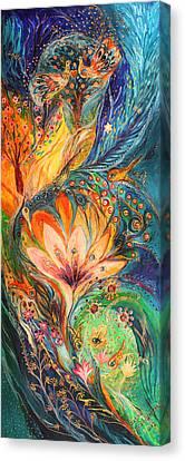 Polyptich Part I - Water Canvas Print by Elena Kotliarker