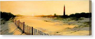Ponce De Leon Lighthouse Canvas Print by Retro Images Archive