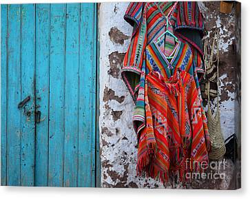 Ponchos For Sale Canvas Print by James Brunker