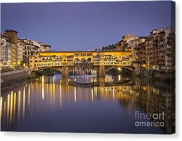 Ponte Vecchio Canvas Print by Brian Jannsen