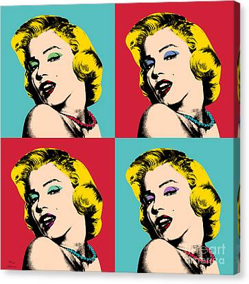 Pop Art Collage  Canvas Print by Mark Ashkenazi