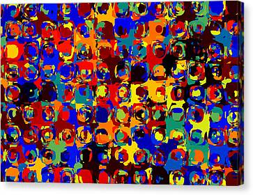 Pop Colors 14 Canvas Print by Craig Gordon