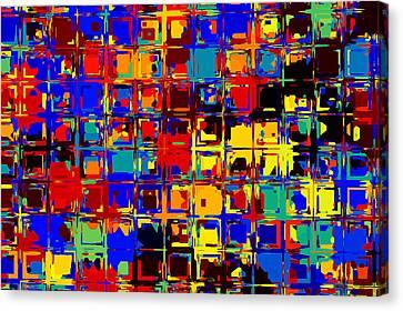 Pop Colors 15 Canvas Print by Craig Gordon