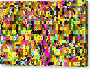 Pop Colors 17 Canvas Print by Craig Gordon