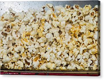 Popcorn 2 - Featured 3 Canvas Print by Alexander Senin