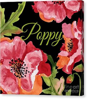 Poppy-jp2596 Canvas Print by Jean Plout