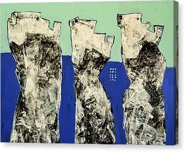 Populus No. 2 Canvas Print by Mark M  Mellon