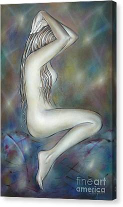 Porcelain Nude 080810 Canvas Print by Selena Boron