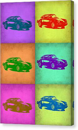 Porsche 911 Pop Art 2 Canvas Print by Naxart Studio