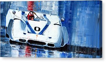 Porsche 917 Pa J.siffert Laguna Seca Canam 1969 Canvas Print by Yuriy Shevchuk
