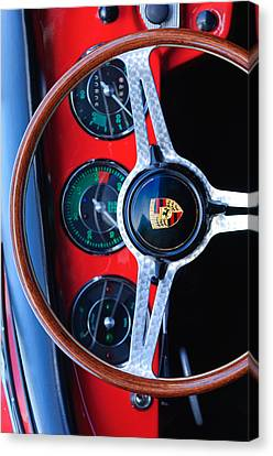 Porsche Custom Iphone Case 2 Canvas Print by Jill Reger