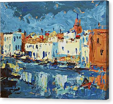 Port De Bizerte Canvas Print by Brian Simons