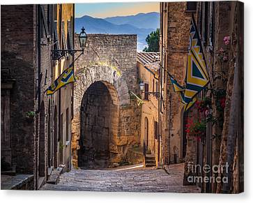 Porta Dell'arco Canvas Print by Inge Johnsson