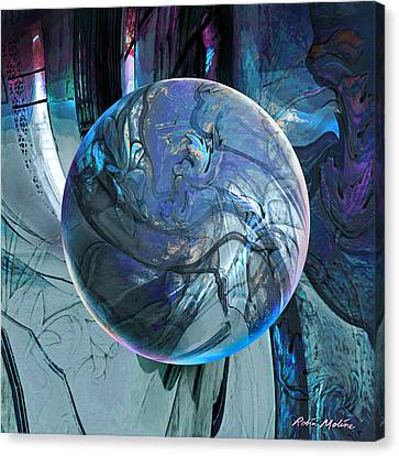 Portal To Divinity Canvas Print by Robin Moline
