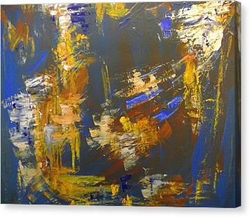 Portend Canvas Print by Karen Lillard