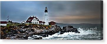 Portland Head Lighthouse 1 Canvas Print by Glenn Gordon