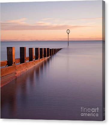 Portobello Beach Scotland Canvas Print by John Farnan