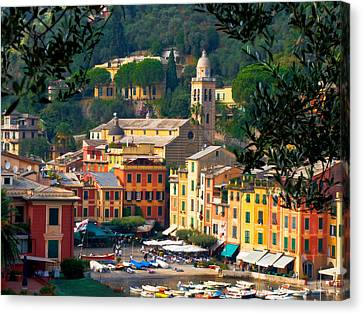 Portofino Canvas Print by Carl Jackson