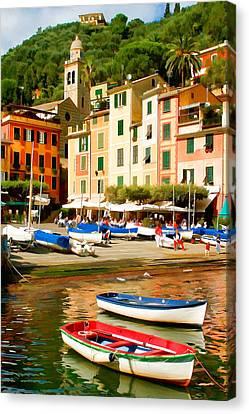 Portofino Canvas Print by Cliff Wassmann