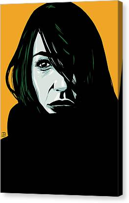 Portrait 3 Canvas Print by Giuseppe Cristiano
