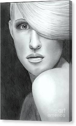 Portrait Canvas Print by Nicola Butt