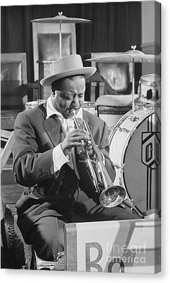 Portrait Of Charlie Shavers 1953 Canvas Print by The Phillip Harrington Collection