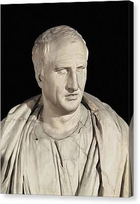 Portrait Of Cicero. Ca.   50 Bc. Roman Canvas Print by Everett