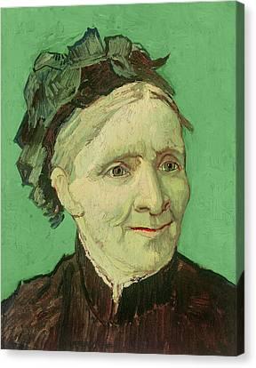 Portrait Of The Artist's Mother Canvas Print by Vincent van Gogh