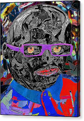 Portraiture Of Passion V3 Canvas Print by Kenneth James