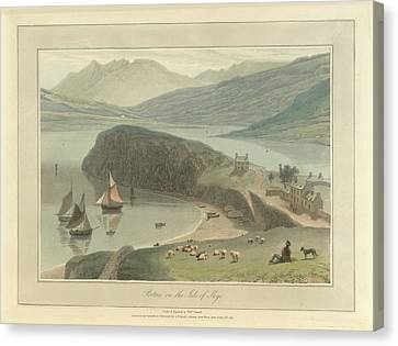 Portree Canvas Print by British Library