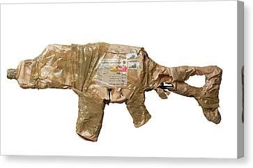 Postal Terrorism Canvas Print by Smetek