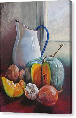 Potential Pumpkin Soup Canvas Print by Lynda Robinson