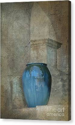 Pottery And Archways II Canvas Print by Sandra Bronstein