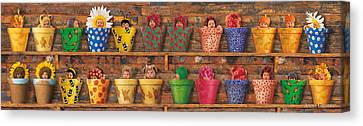 Potting Shed Canvas Print by Anne Geddes