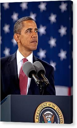 Obama Canvas Print by Joshua Berman