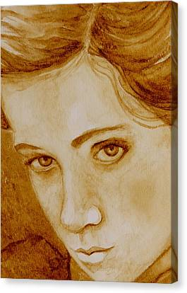Pout Canvas Print by Julee Nicklaus