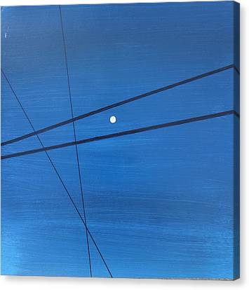Power Lines 09 Canvas Print by Ronda Stephens