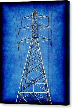Power Up 1 Canvas Print by Wendy J St Christopher