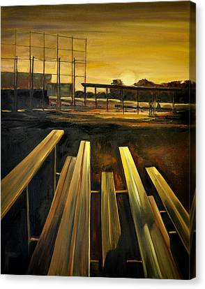 Practice Fields Canvas Print by Lindsay Frost