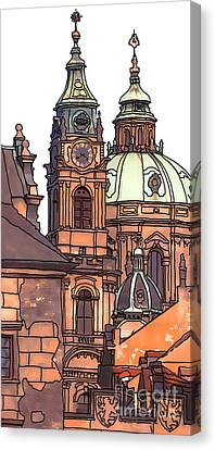 Prague 1 Canvas Print by Phil Robinson