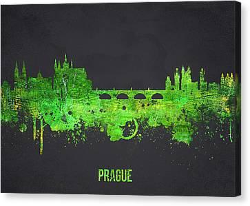 Prague Czech Republic Canvas Print by Aged Pixel
