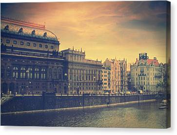 Prague Days Canvas Print by Taylan Soyturk