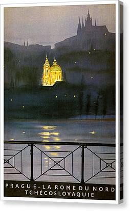 Prague Canvas Print by Georgia Fowler