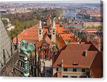 Prague View Canvas Print by Iryna Soltyska