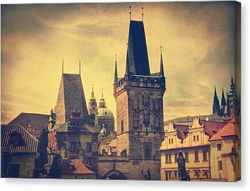 Praha Canvas Print by Taylan Soyturk