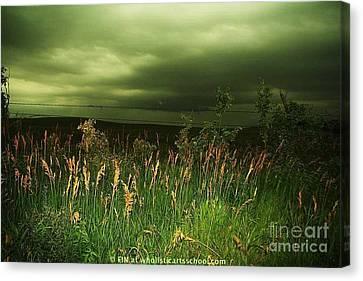 Prairie Clouds Canvas Print by PainterArtist FIN