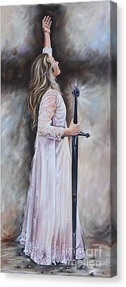 Praise To The Groom Canvas Print by Ilse Kleyn